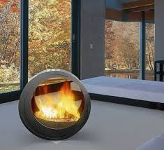arkiane fireplace eclypsya 1 Round Fireplaces  mobile fireplace design  Eclypsya by Arkiane