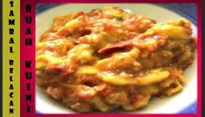 May 7, 2012 at 10:43 pm post a comment Resep Kue Bacang Sambal Belacan Buah Kuini Sambal Kuini Sedap Mesti Cuba Buat Kue