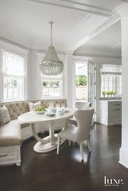 kitchen nooks with corner kitchen table with storage bench