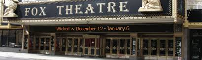 Fabulous Fox Theatre St Louis Tickets And Seating Chart