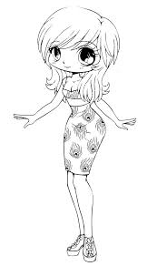 Chibi Anime Coloring Pages Free Printable For Kids Book 8001283