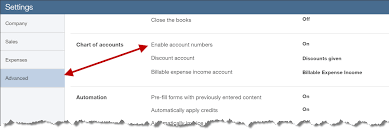 Account Numbers In Quickbooks Online Experts In