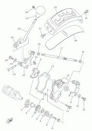 Yamaha grizzly parts diagram best of 2014 yamaha grizzly 550 fi yfm550del shift shaft parts best