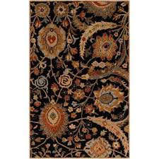 afonso charcoal 8 ft x 11 ft indoor area rug