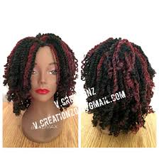 Kinky Twist Hairstyles Crochet Braids Kinky Twist Wig Using Cuban Twist Braid Hair