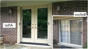 amazing sliding patio door replacement door replace sliding door with french doors theflowerlab