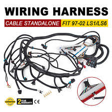 ls1 wiring harness set 97 02 dbc ls1 standalone wiring harness t56 non electric trans super