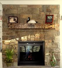 ... Charming Image Of Home Interior Design And Decoration With Various Stone  Fireplace : Delightful Home Interior ...