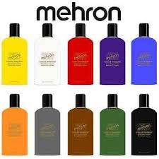 image is loading mehron professional liquid face paint makeup 4 5oz