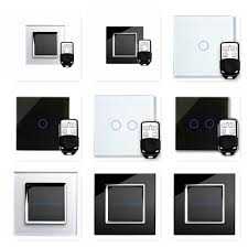 RetroTouch Glass Touch & Remote Control On/Off & Dimmer LED Light Switches