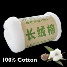 Online Buy Wholesale organic mattress from China organic mattress ... & 0.5Kg 1Mx2M Handmade 100% cotton batting Cotton Filling Core Cotton Fabric  For Baby Comforter Adamdwight.com