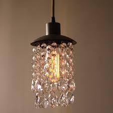 mesmerizing crystal pendant light at length 100cm modern led ceiling lamp