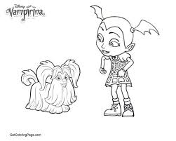 Vampirina Coloring Pages Of Famous People Get Coloring Page