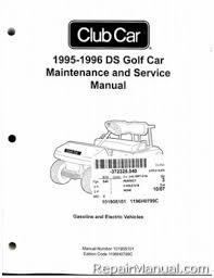 club car golf cart manuals repair manuals online club car ds service manual pdf at 1995 Club Car Parts Schematic