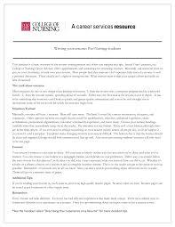 Resume For Graduate Nurse New Graduate Nursing Resume Sample Resume