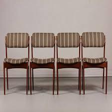 mid century od 49 teak dining chairs by erik buch for oddense scheme ideas of modern