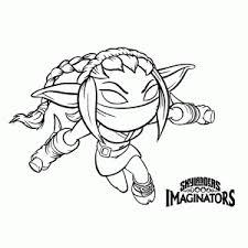 Skylanders Coloring Pages Stealth Elf Attractive Imaginators Leuk