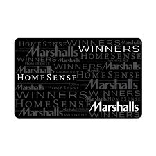 25 winners homesense marshalls gift card