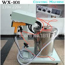 electrostatic powder coating machine wx 101 electrostatic spray powder coating machine spraying paint ac