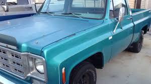 1978 Chevy short bed, big block - YouTube