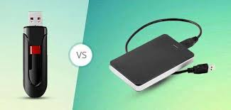 External Hard Drive Comparison Chart Usb Flash Drive Vs External Hard Drive Which One Is Best