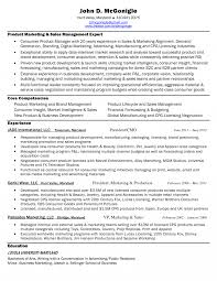 Brilliant Ideas Of Sample Resume For Sales And Marketing Manager