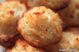 eggless coconut macaroons