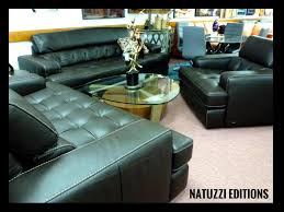 Natuzzi Leather Sofas & Sectionals by Interior Concepts Furniture