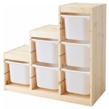 Assorted Stairs Shape Along With Six Boxes Ikea Storage Cabinets Toy Organizers  Ikea Trofast Toy Storage