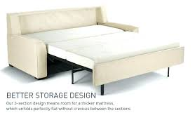 marvelous sleeper sofa foam mattress cameron roll arm