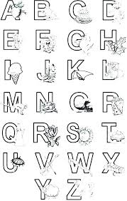 Spanish Alphabet Coloring Pages Collection Of Coloring Pages