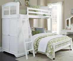 Locker Bedroom Furniture Twin Over Full Locker Loft Bunk Bed 9060 And 8060 Walnut Street