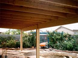 aluminum wood patio covers. A Solid Roof Patio Cover Under Construction Aluminum Wood Covers