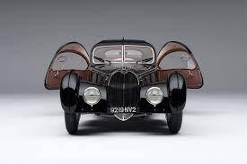 1938 alfa romeo 8c 2900 mm. 1938 Bugatti Type 57sc Atlantic La Voiture Noire At 1 8 Scale Amalgam Collection