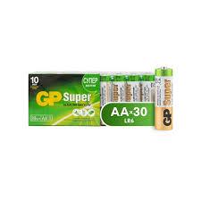 <b>Батарейки GP</b> АА 15A-2CRVS30, 30шт/уп.