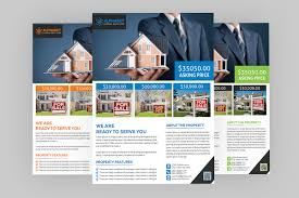 real estate flyer psd template coding bank features easy customizable and editable real estate flyer in 8 75 x11 25 bleed setting 0 25 inch cmyk color design in 300 dpi resolution print