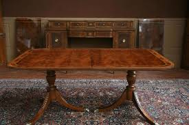 dining room table with leaf. Beautiful Decoration Pedestal Dining Room Table Double With Leaves Duncan Phyfe Leaf