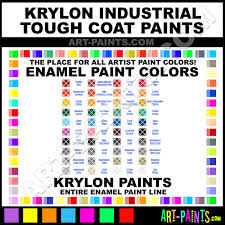 Krylon Color Chart Krylon Industrial Tough Coat Enamel Paint Colors Krylon