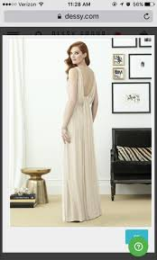 Dessy Bridesmaid Dress 2955 Size Chart 6 Lux Ch