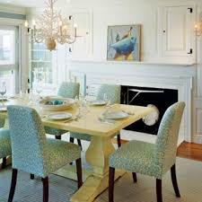dining room traditional um tone wood floor dining room idea in boston with a brick