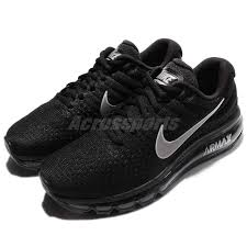 nike running shoes black 2017. wmns nike air max 2017 black white women running shoes sneakers 360 849560-001 0