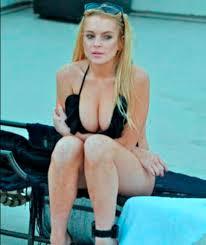 Lohan big ass titties