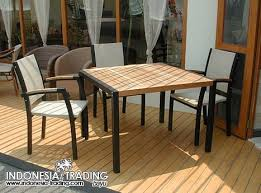 metal and wood patio furniture. Modren And OBIT0006 Intended Metal And Wood Patio Furniture E