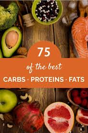 Fruit Calories And Carbs Chart Top 15 Healthy Carb Protein And Fat Rich Foods