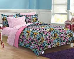 queen beds for girls. Interesting For Pink Rainbow Leopard Teen Girl Bedding Twin XL Full Queen Bed In A Bag Dorm  Comforter Set Intended Beds For Girls B
