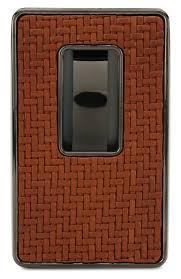 Мужской темно-бежевый кожаный <b>футляр для визитных карт</b> ...