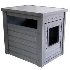covered cat litter box furniture. New Age Pet Habitat \u0027n Home Espresso Litter Loo-EHLB001-02 - The Depot Covered Cat Box Furniture