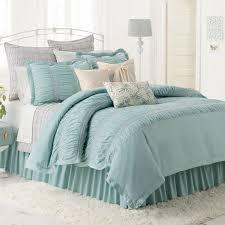 lc lauren conrad lily reversible comforter set pretty blue twin twin xl bed 2 pc com