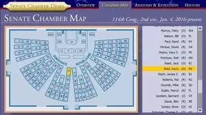 Senate Floor Seating Chart Do Congressmen And Senators Have An Assigned Seat In The