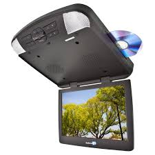 overhead dvd player roof mount dvd players dvd flip down for audiovox avxmtg13ua 13 inch overhead dvd player dvd loaded